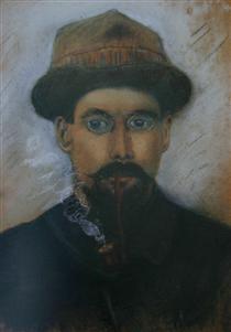 Self-portrait - Gustave Loiseau