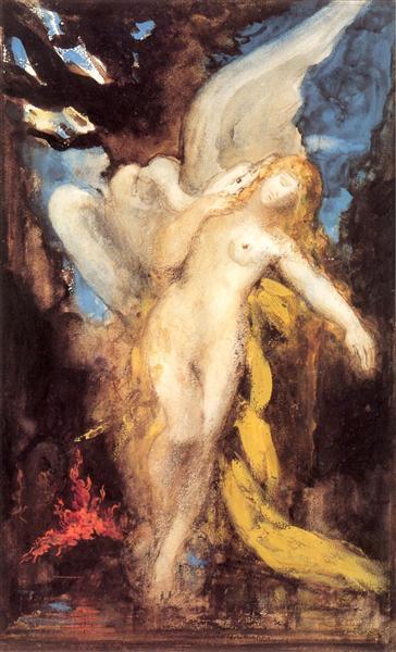 Leda, c.1875 - c.1880 - Gustave Moreau