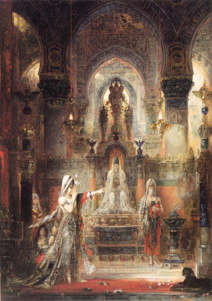 Salome Dancing before Herod, 1876 - Gustave Moreau