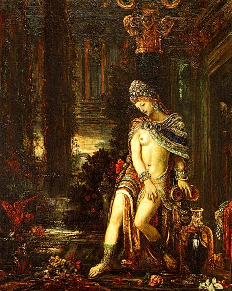 Susanna and the Elders, c.1895 - Gustave Moreau
