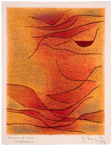 Collines, 1954 - Gustave Singier