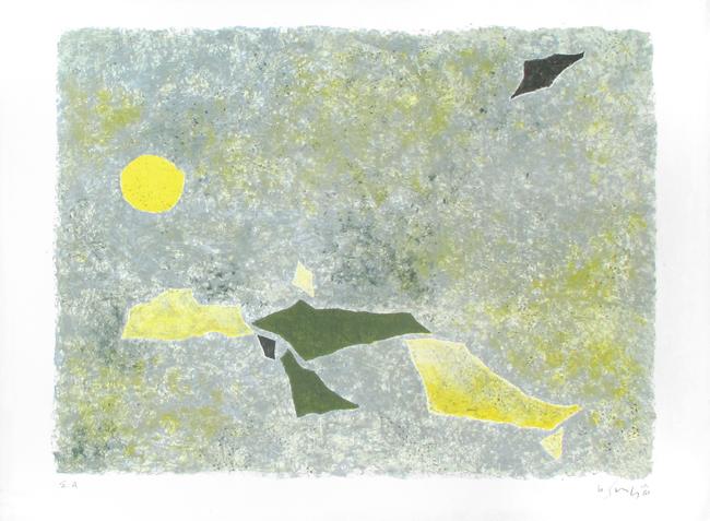 Morning migration, 1961 - Gustave Singier