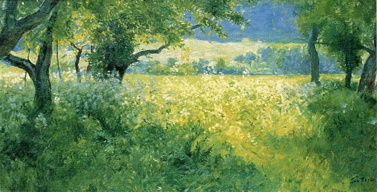 July Afternoon, 1897 - Guy Rose