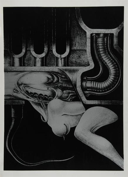 Biomechanoiden, 1969 - H.R. Giger