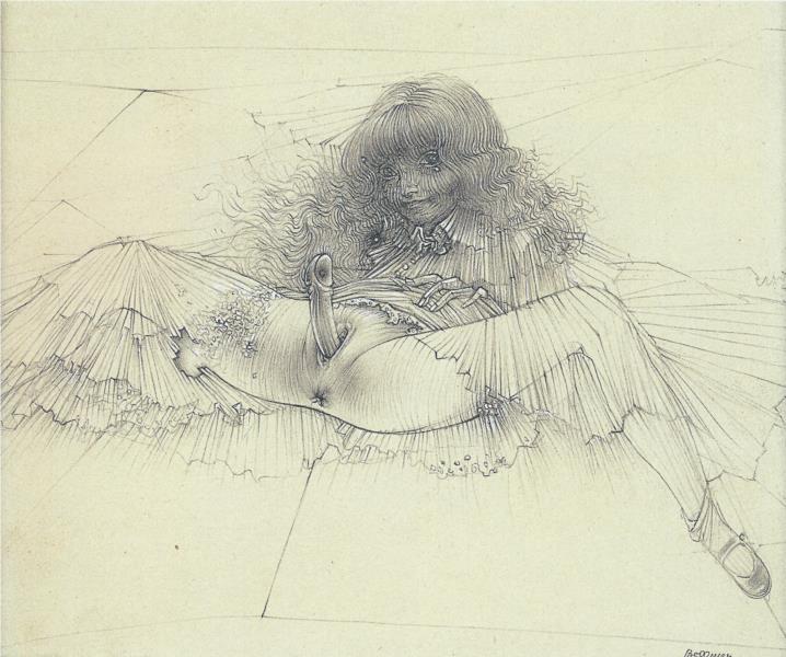 Eagle Miss, 1946 - Hans Bellmer