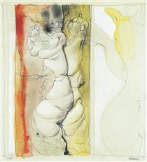 Untitled (Bound Woman) - Hans Bellmer