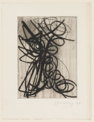 Composition, 1948 - Hans Hartung