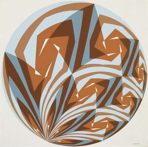 Konstruktionszeichnung zu Opus 73, 1961 - Ханс Гінтеррайтер