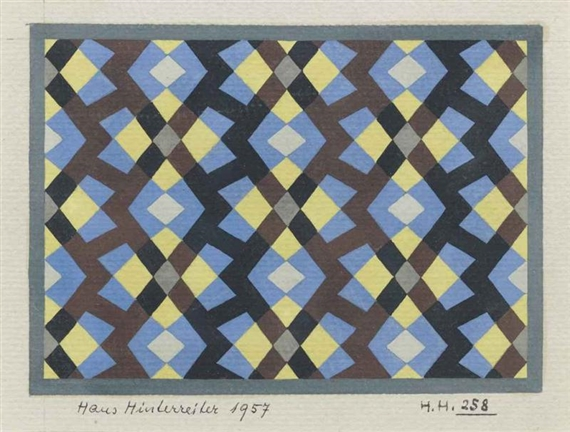 No. 258, 1957 - Hans Hinterreiter