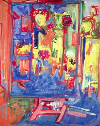Interior Composition, 1935 - Hans Hofmann