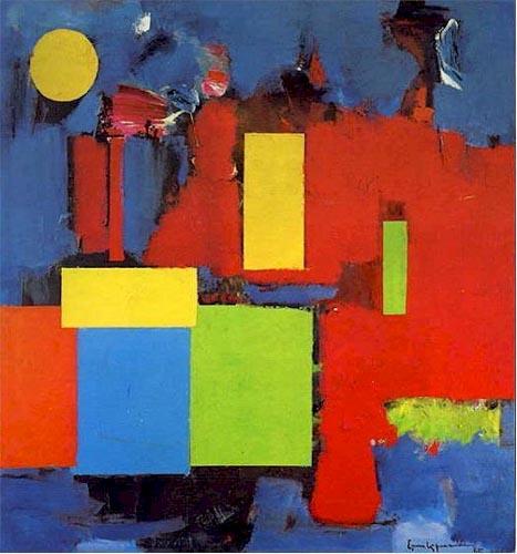 Rising Moon, 1964 - Hans Hofmann