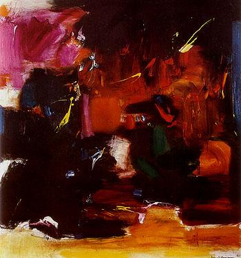 Summer Night's Bliss, 1961 - Hans Hofmann