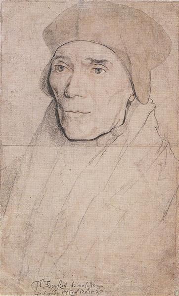 Portrait of Bishop John Fisher, c.1532 - c.1534 - Hans Holbein el Joven