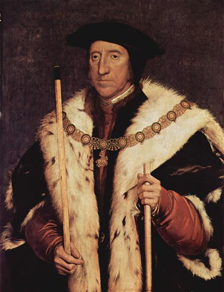 Portrait of Thomas Howard, 1539 - Hans Holbein the Younger