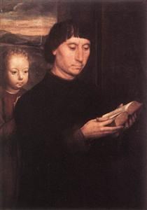 Portrait of a Reading Man - Hans Memling