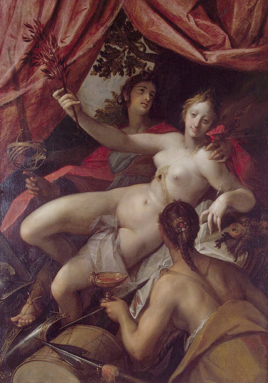 Allegory of Peace, Art, and Abundance, 1602