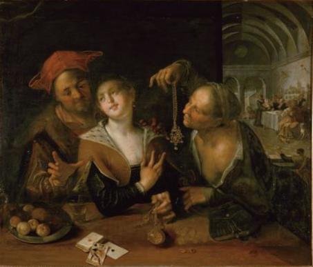 Matchmaking scene, 1610