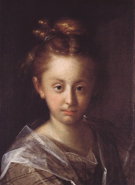 Portrait of a girl (Maria Maxmiliana), 1612
