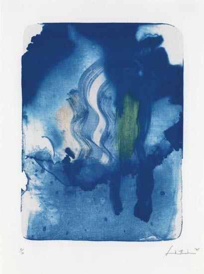Reflections V, 1995 - Helen Frankenthaler