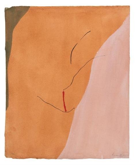 Sanguine Mood, 1971 - Гелен Франкенталер