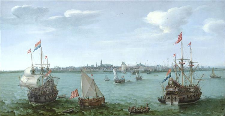View of Hoorn (Netherlands), 1622 - Hendrick Cornelisz Vroom