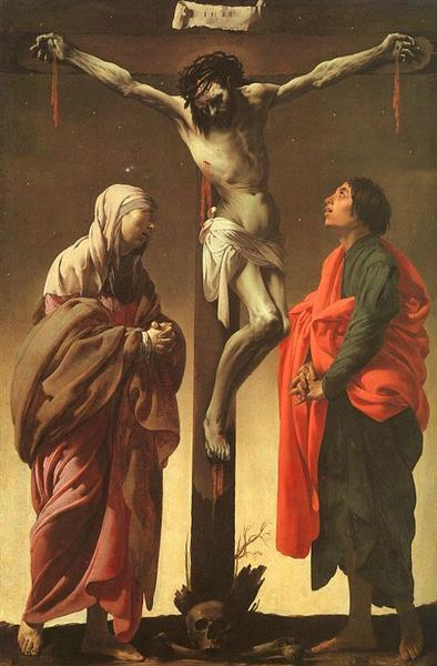 The Crucifixion With The Virgin And St. John, 1624 - 1625 - Hendrick Terbrugghen