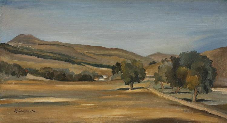 Landscape, 1927 - Henri Catargi