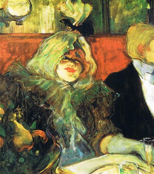 At the Rat Mort, 1899 - Анри де Тулуз-Лотрек