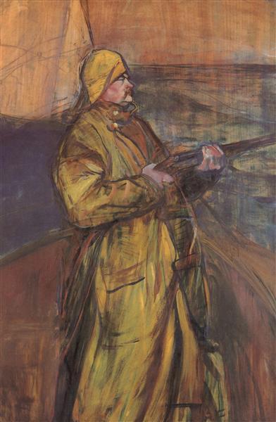 Maurice Joyant Somme bay, 1900 - Henri de Toulouse-Lautrec