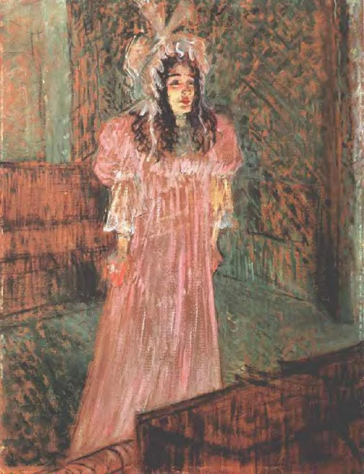 Miss may belfort henri de toulouse lautrec for Toulouse lautrec works