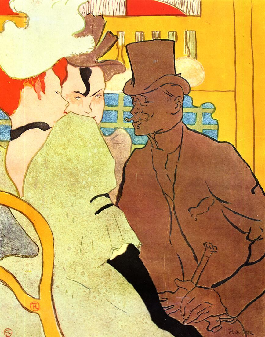henri toulouse lautrecs at the moulin rouge essay Hangover, 1889 by henri de toulouse-lautrec post-impressionism genre painting fogg museum (harvard art museums), cambridge, ma, us.
