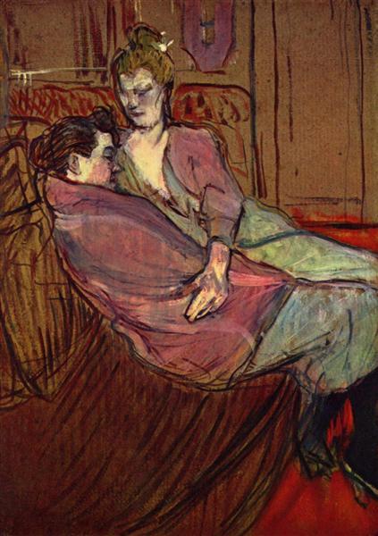 The Two Friends, 1894 - Henri de Toulouse-Lautrec