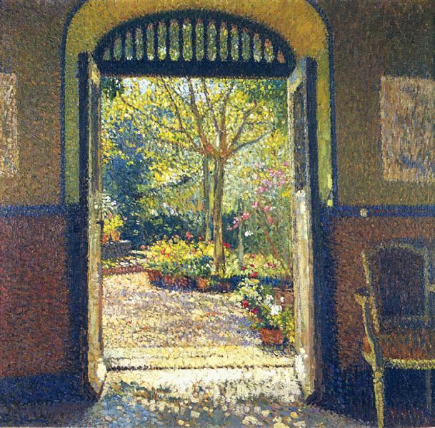 A Garden in the Sunshine - Henri Martin
