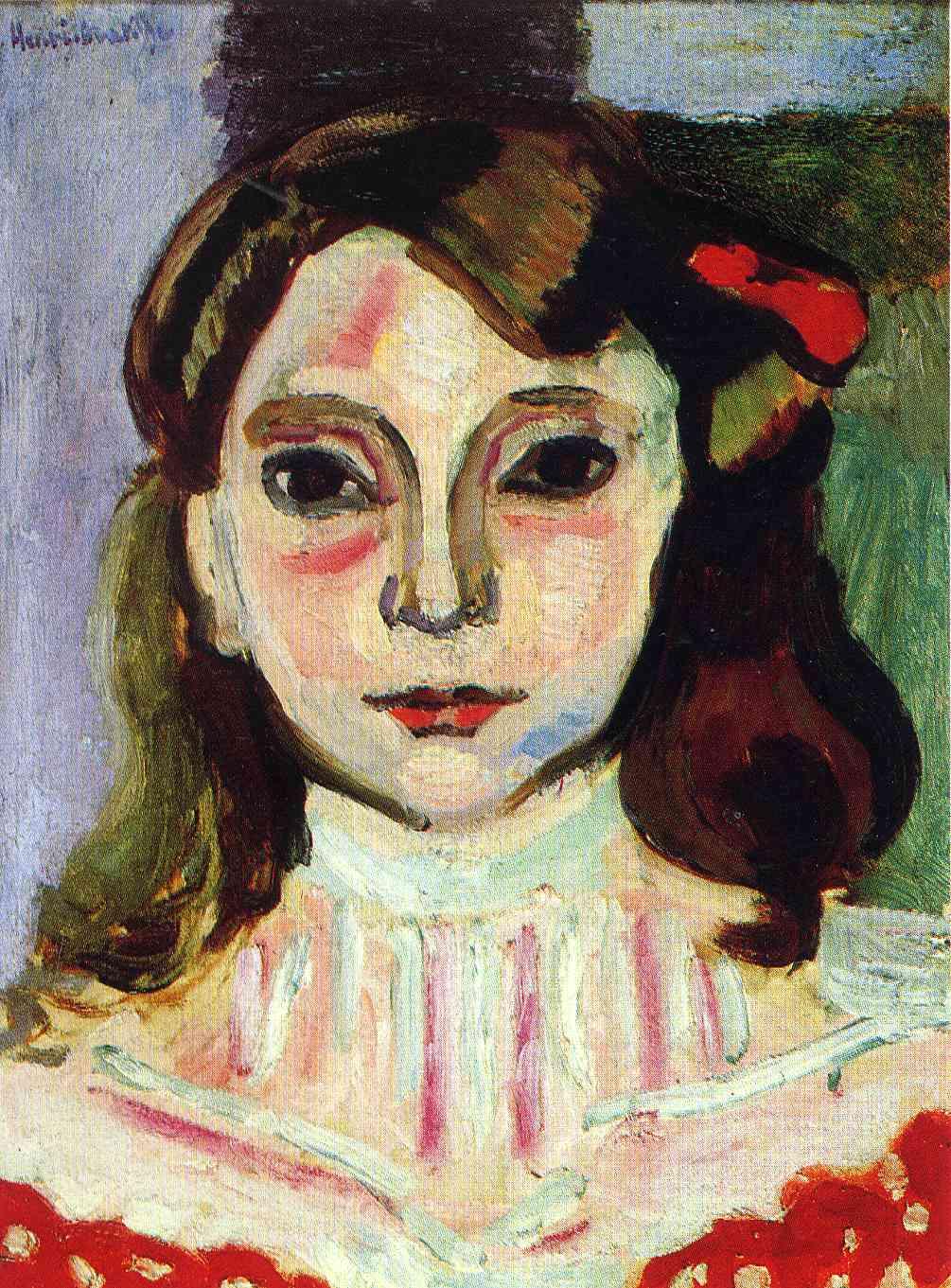 Marguerite, 1906 - Henri Matisse - WikiArt.org