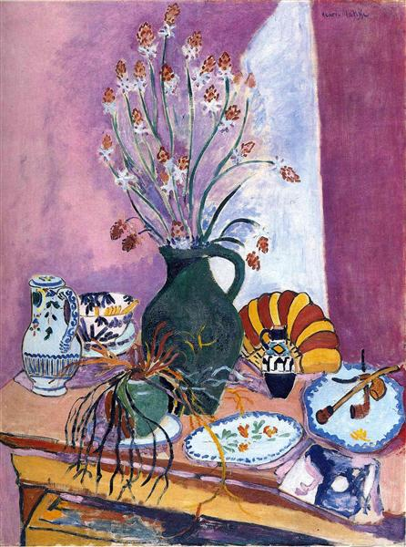 Still Life with Asphodels, 1907 - Henri Matisse
