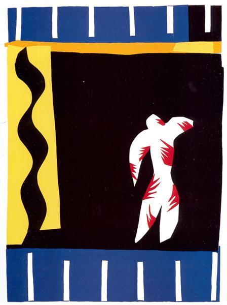 The Clown, 1943 - Henri Matisse