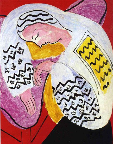 The Dream, 1940 - Henri Matisse