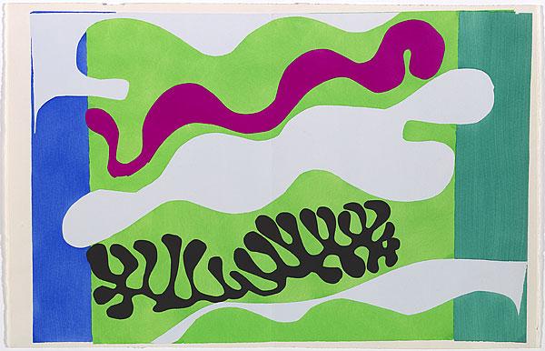 The Lagoon 2, c.1947 - Henri Matisse