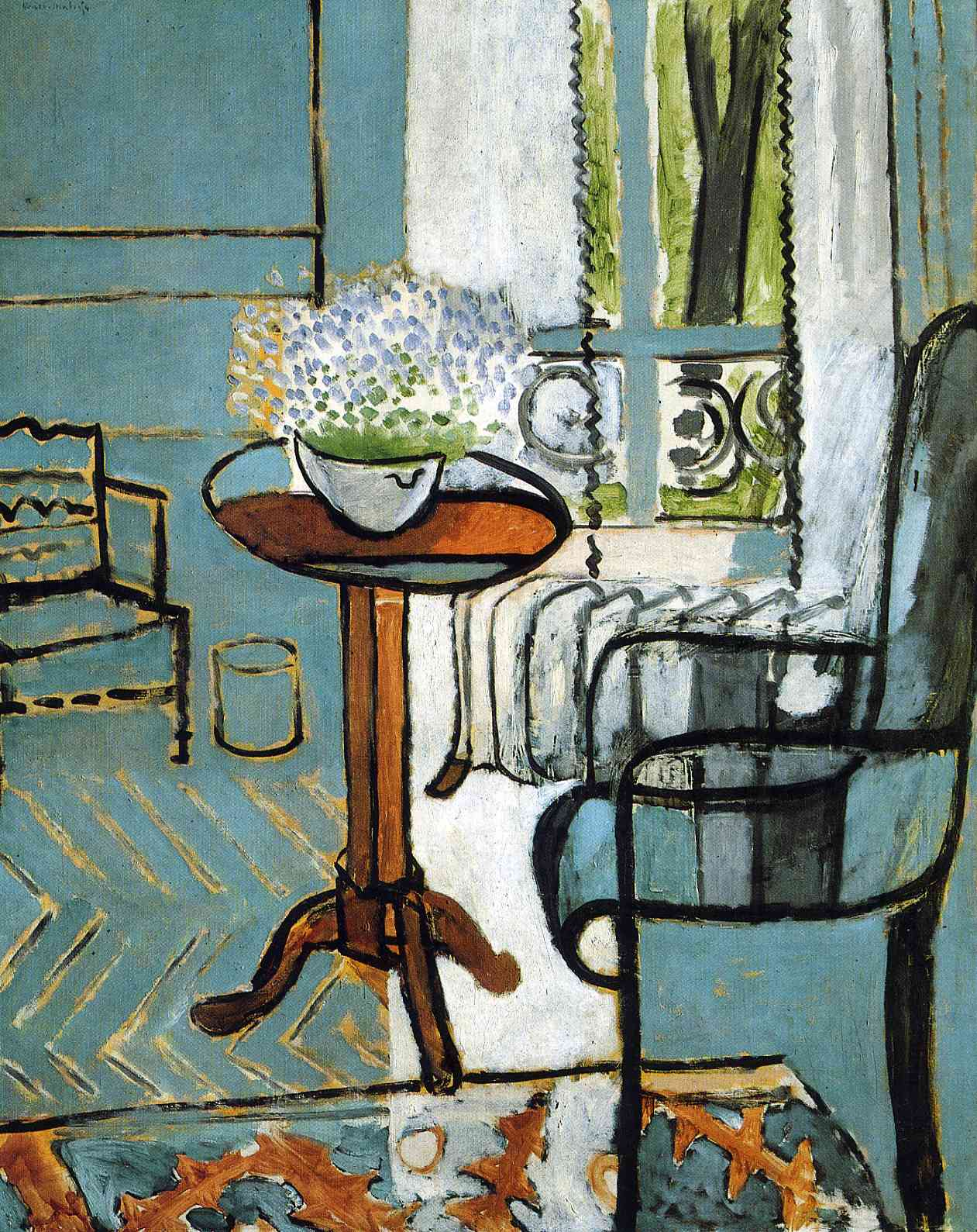 The window henri matisse encyclopedia of for Par la fenetre ouverte bonjour