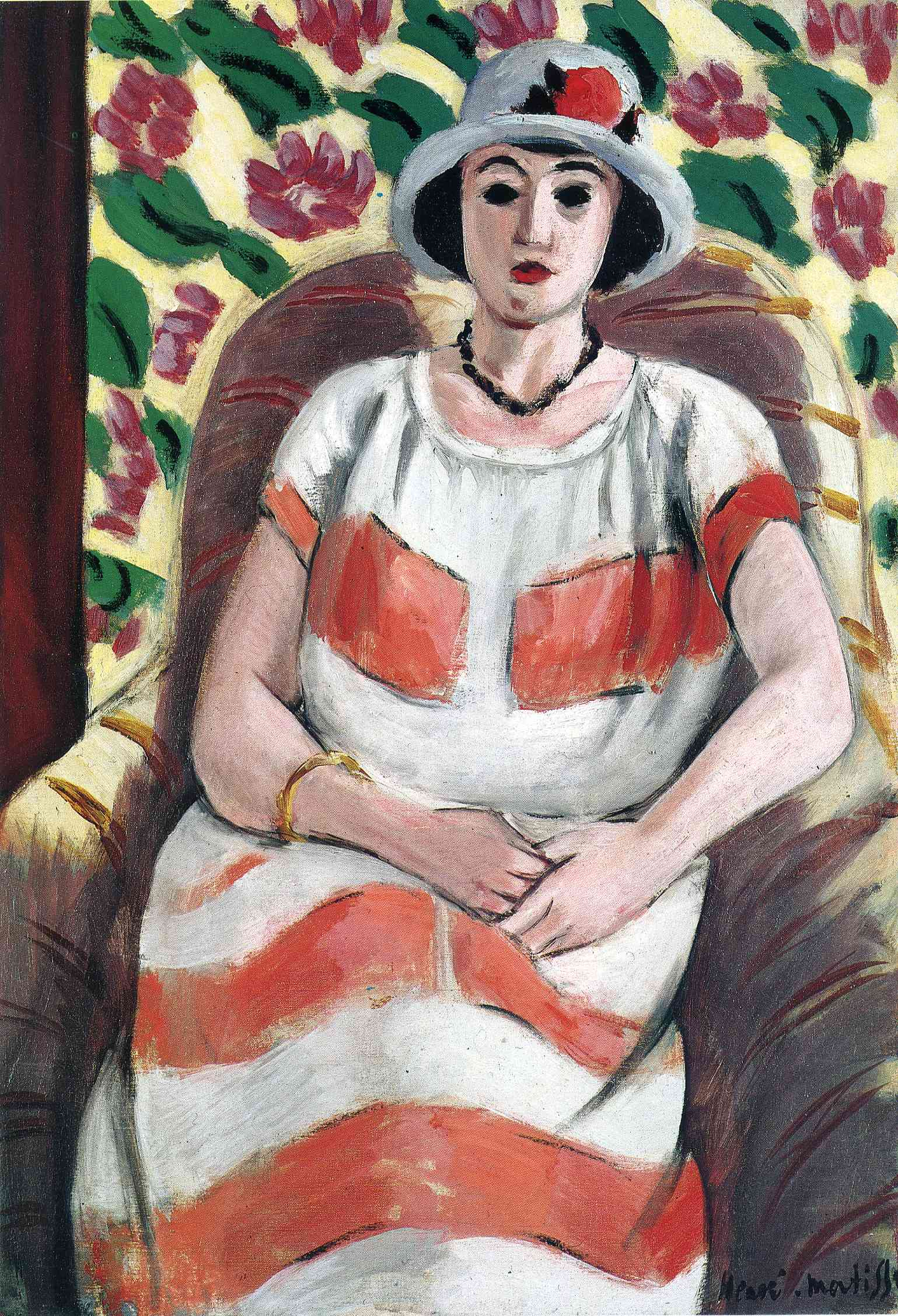 Young woman in Pink, 1923 - Henri Matisse - WikiArt.org