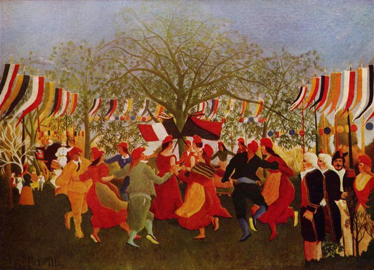 Centennial of Independence - Henri Rousseau