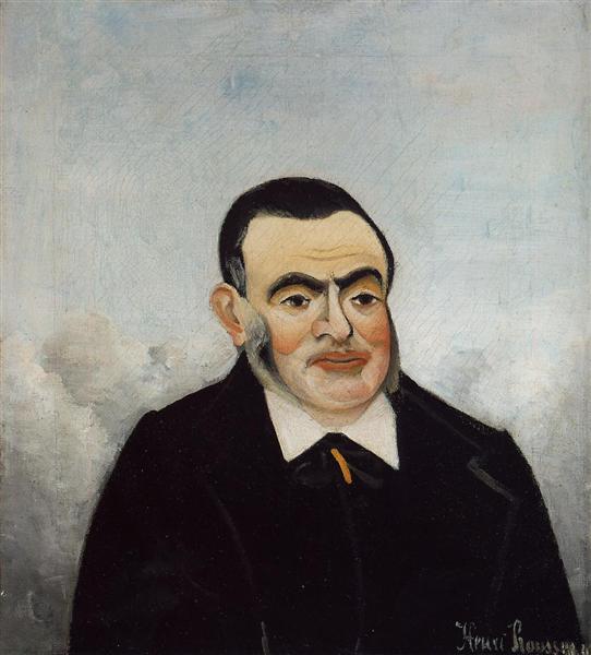 Portrait of a Man, 1905 - Henri Rousseau