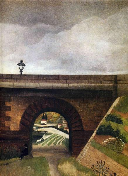 Sevres Bridge, 1895 - Henri Rousseau