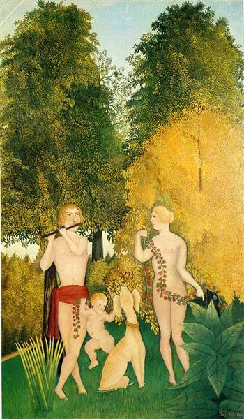 El Cuarteto feliz - Henri Rousseau