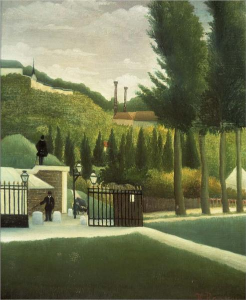 The Toll House, 1890 - Henri Rousseau