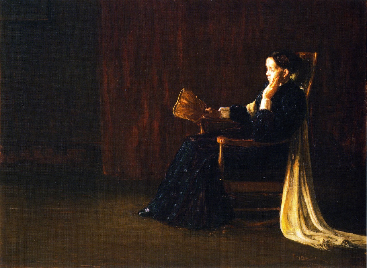 Portrait of the Artist's Mother Painter Henry Ossawa