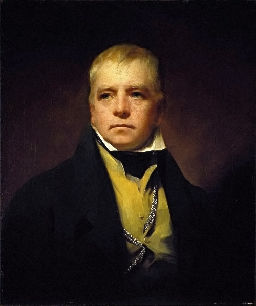 Portrait of Sir Walter Scott, 1822 - Генрі Реберн