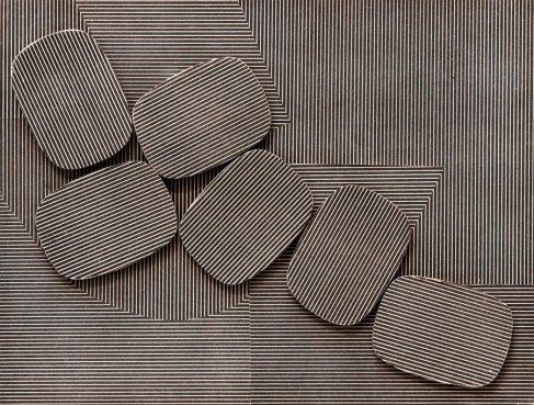 Collage, 1961 - Henryk Stazewski
