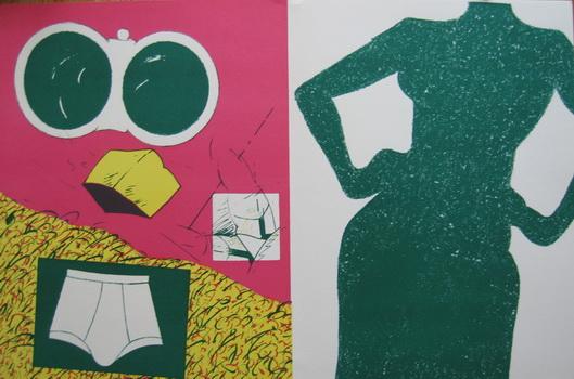 Untitled, 1964 - Herve Telemaque