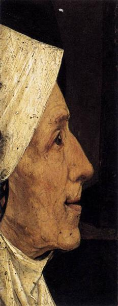 Head of an Old Woman, 1510 - Hieronymus Bosch